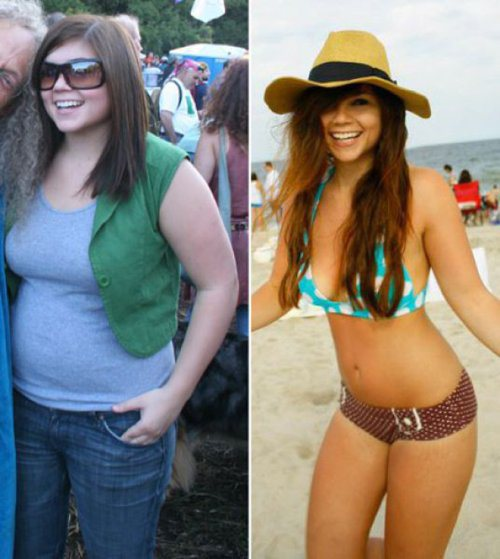 amazing health transformations 26 Girls who made amazing transformations in the name of health (30 Photos)