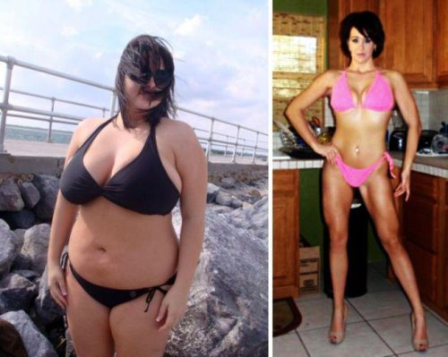 amazing health transformations 4 Girls who made amazing transformations in the name of health (30 Photos)