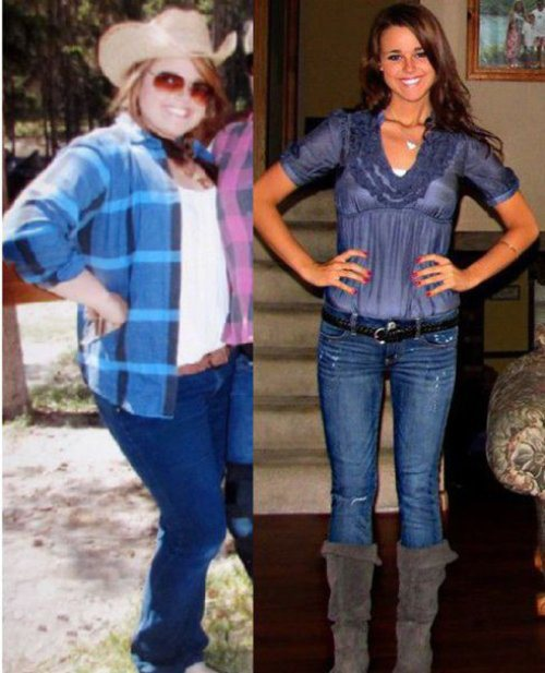 amazing health transformations 7 Girls who made amazing transformations in the name of health (30 Photos)