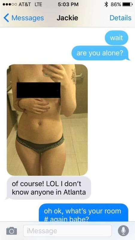 Bloke Catches Cheating Girlfriend After Spotting Something Unusual In Her Sexts 20680UNILAD imageoptim cheating sexts 2