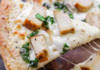 Kjúklinga Alfredo Pizza