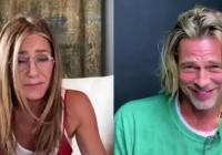 Brad Pitt roðnar í samlestri með Jennifer Aniston - svolítið vandræðalegt MYNDBAND!