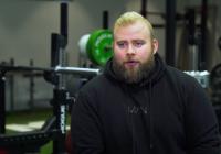 """Kristján S. Níelsson:""""Ég kom út úr skápnum árið 2011 þegar ég byrjaði að lyfta"""""""