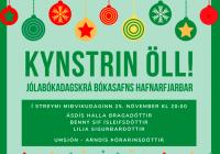 Beint streymi frá upplestri rithöfunda í Bókasafni Hafnarfjarðar - kl: 20:00!