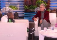 Ellen og uppáhalds gestirnir hennar! MYNDBAND