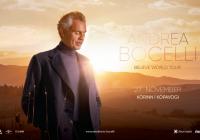 Andrea Bocelli tónleikum frestað til nóvember 2021
