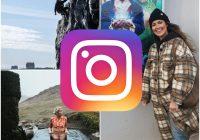 """Myndirnar á Instagram:""""Tiger King þema svo við tókum sexí dans við Eye of the Tiger"""""""