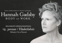 Emmy verðlaunahafinn Hannah Gadsby til Íslands!